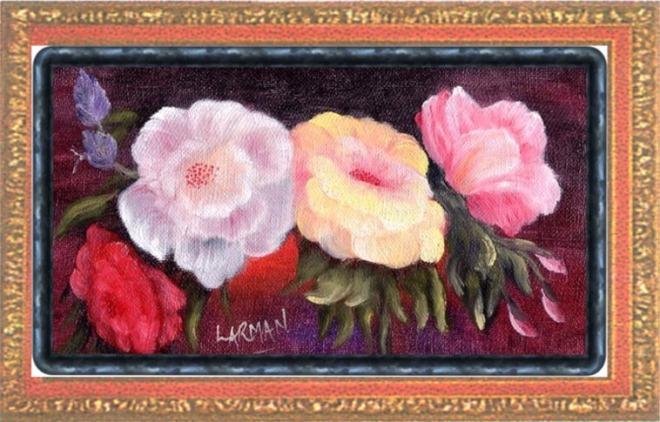 Roses in Frame