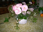 PinkRoses in vase