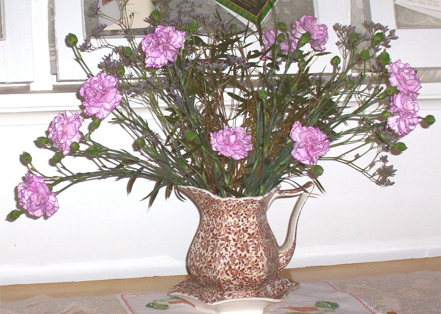 Carnations in Jug