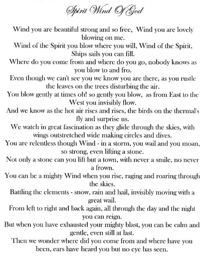 Spirit Wind of God
