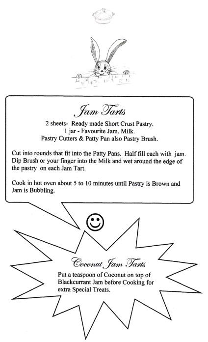 Jam Tarts Recipe