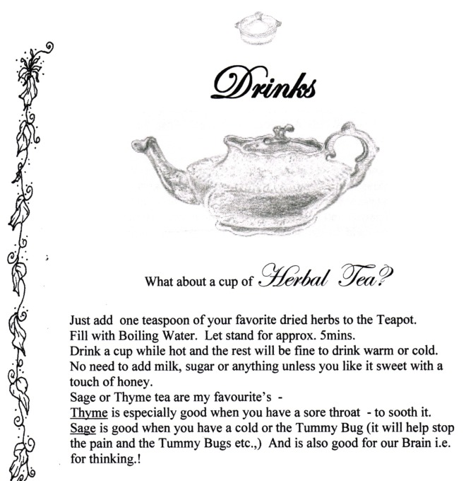 Recipe Herbal Tea