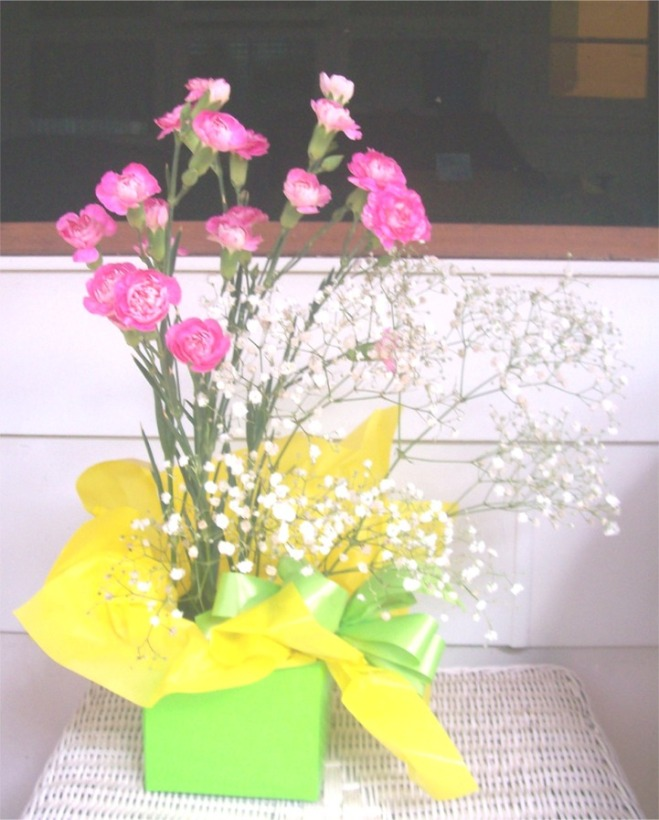 carnations-green-box